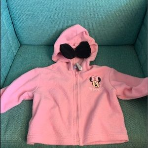 Minnie lightweight sweatshirt and shoes